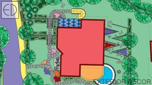 План на градина