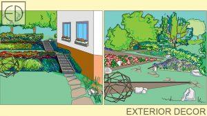 Визуализации на градина