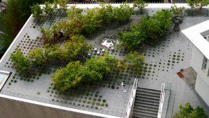 Keio University Roof Garden