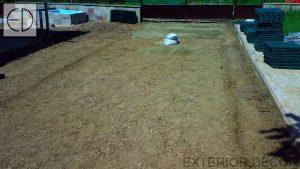 Полагане на основите от пясък